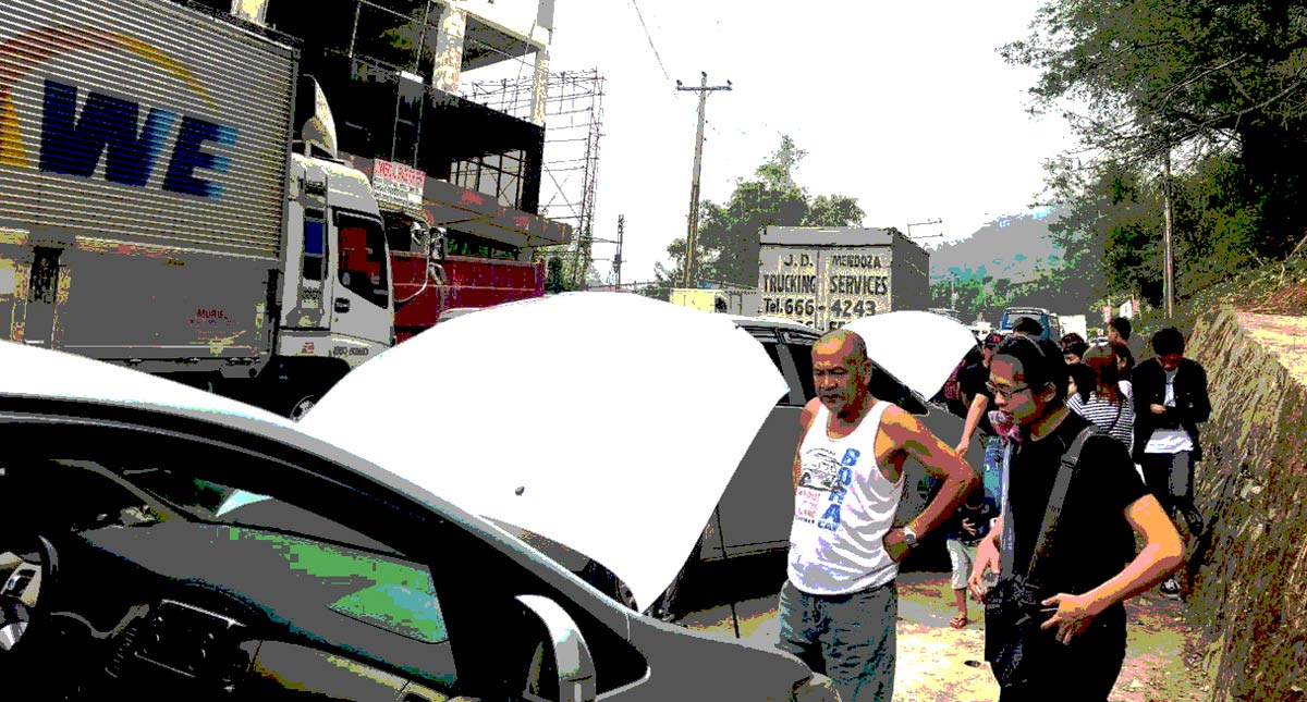 Driving up to Baguio? This is why cars break down on Marcos Highway