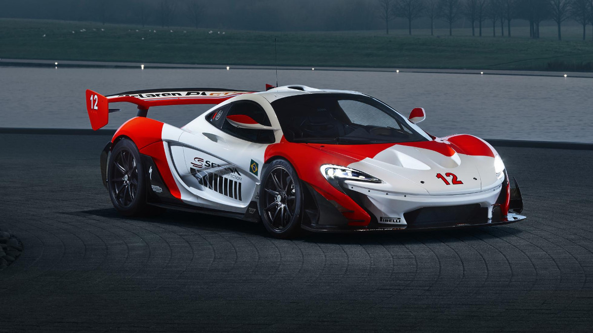 A Senna fan's McLaren P1 GTR becomes a tribute to the F1 champion