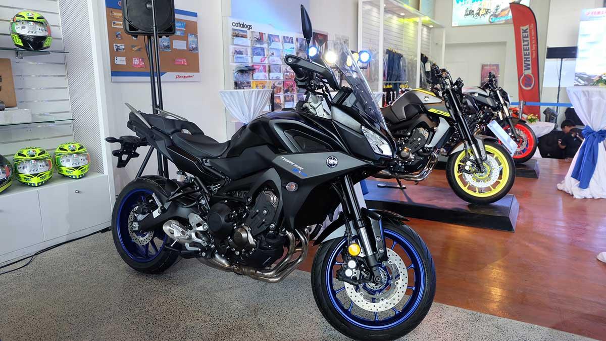 Yamaha RevZone: location, motorcycle, accessories, apparel