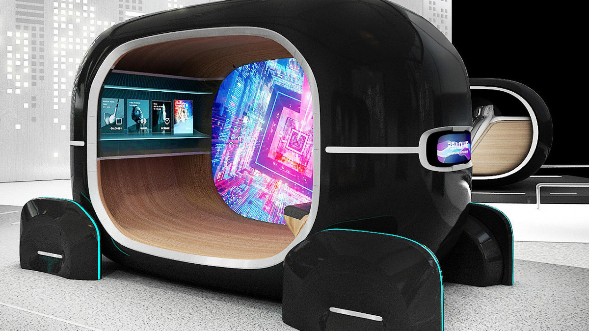 Kia Las Vegas >> Kia's futuristic R.E.A.D. cabin can monitor your emotional ...