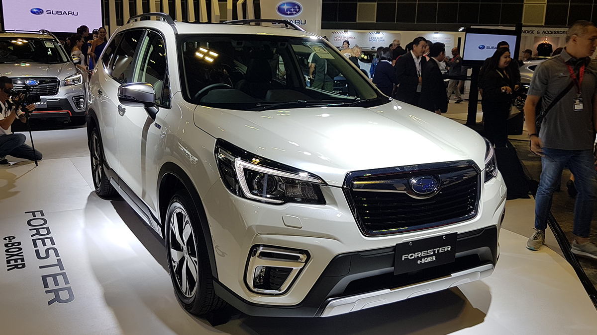 2019 Subaru Forester with hybrid boxer engine is coming to PH