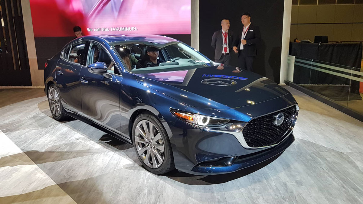 All New 2019 Mazda 3 Launched In Southeast Asia
