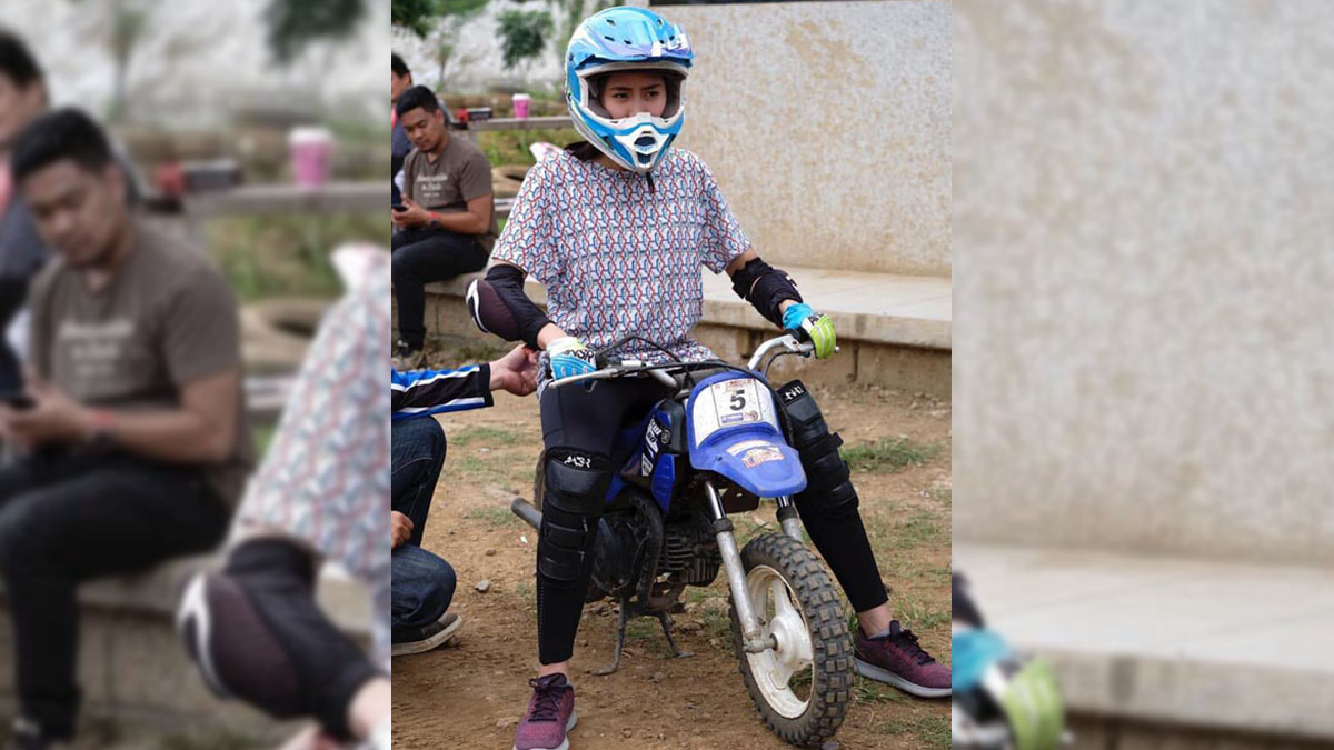 Sarah Geronimo joins Matteo Guidicelli's ride training session
