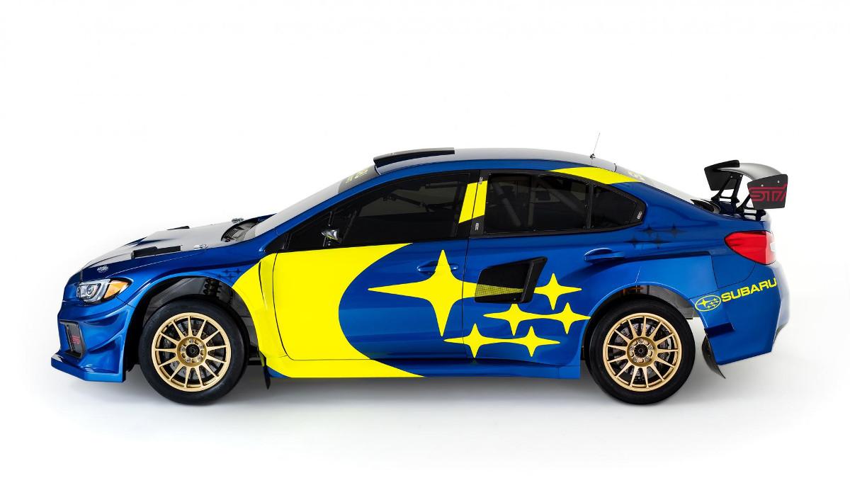 Subaru Rally Car >> Subaru Motorsports Brings Back Iconic Blue And Yellow Livery