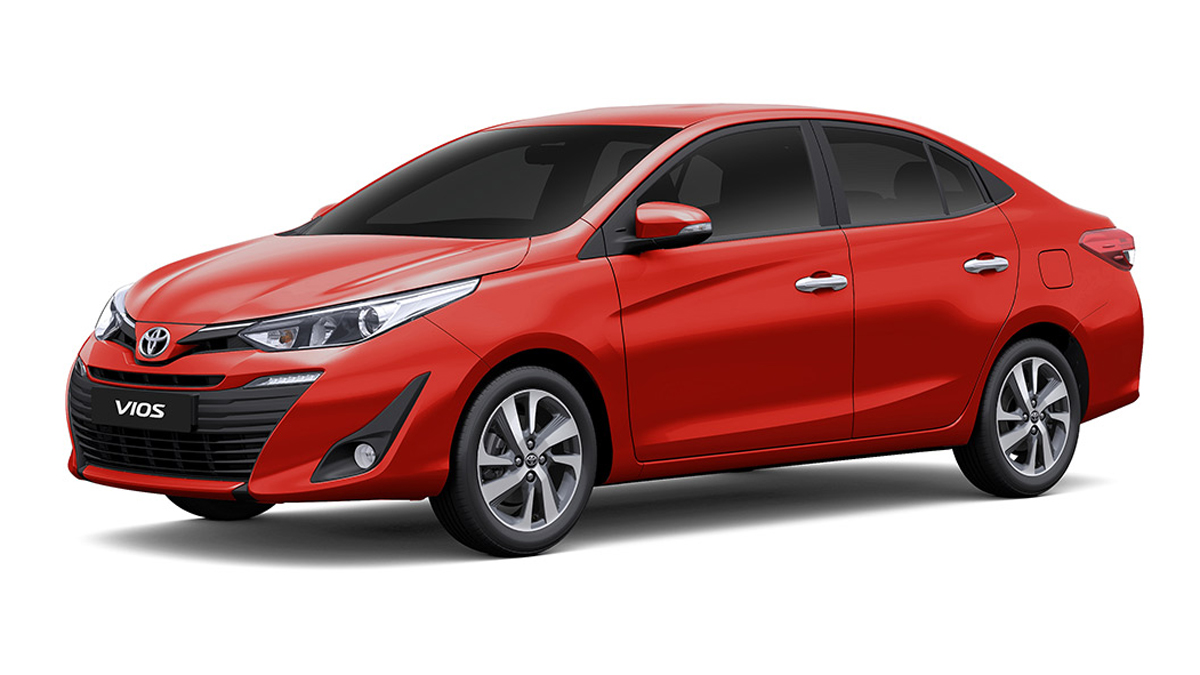The Toyota Vios Xe Is An Affordable Subcompact Sedan With A Cvt