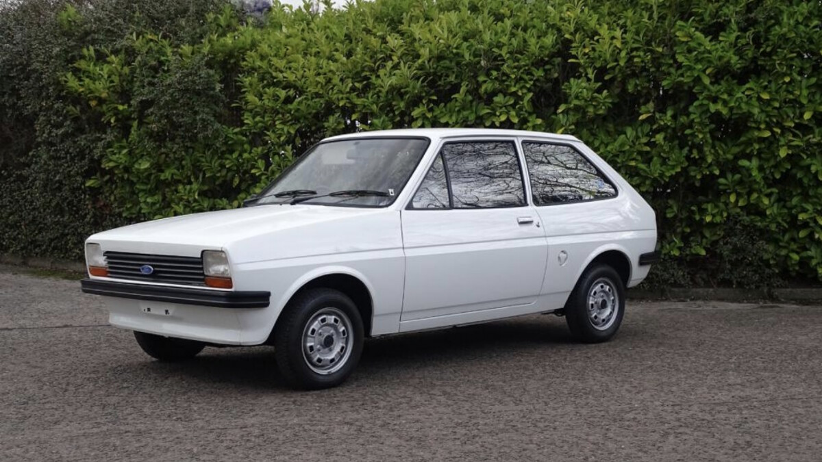 40 Year Old Ford Fiesta To Be Sold At Auction