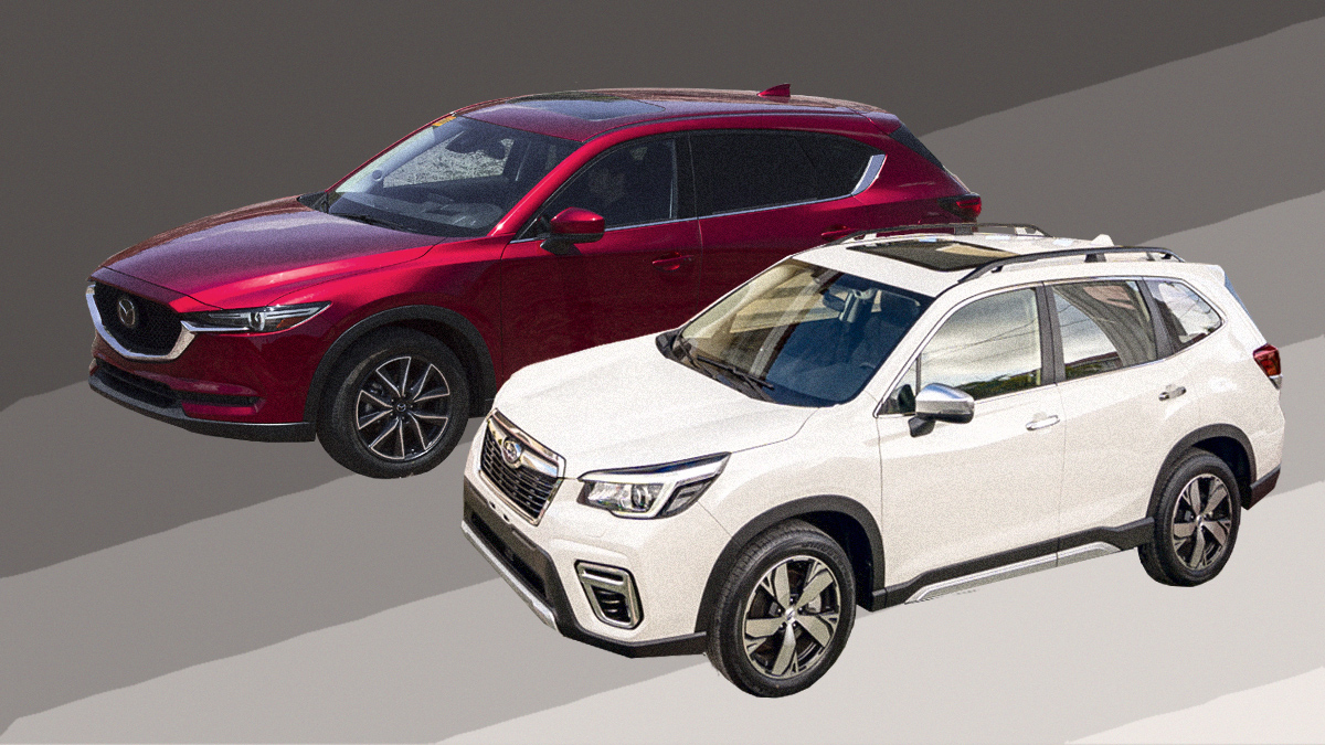 2019 subaru forester mazda cx 5 review prices photos features specs. Black Bedroom Furniture Sets. Home Design Ideas