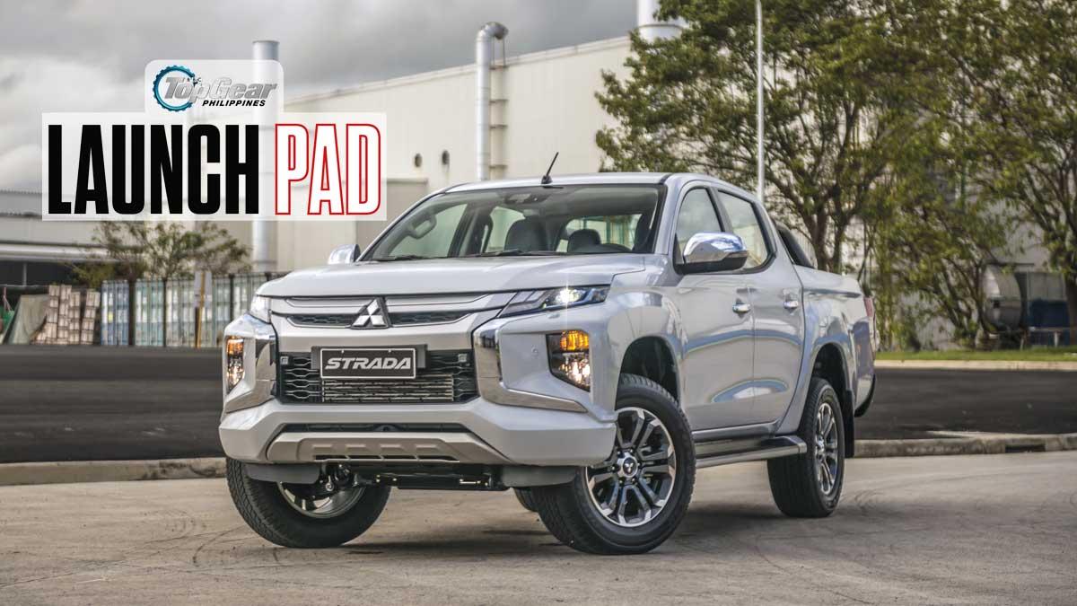 Top Gear Launch Pad 2019 Mitsubishi Strada