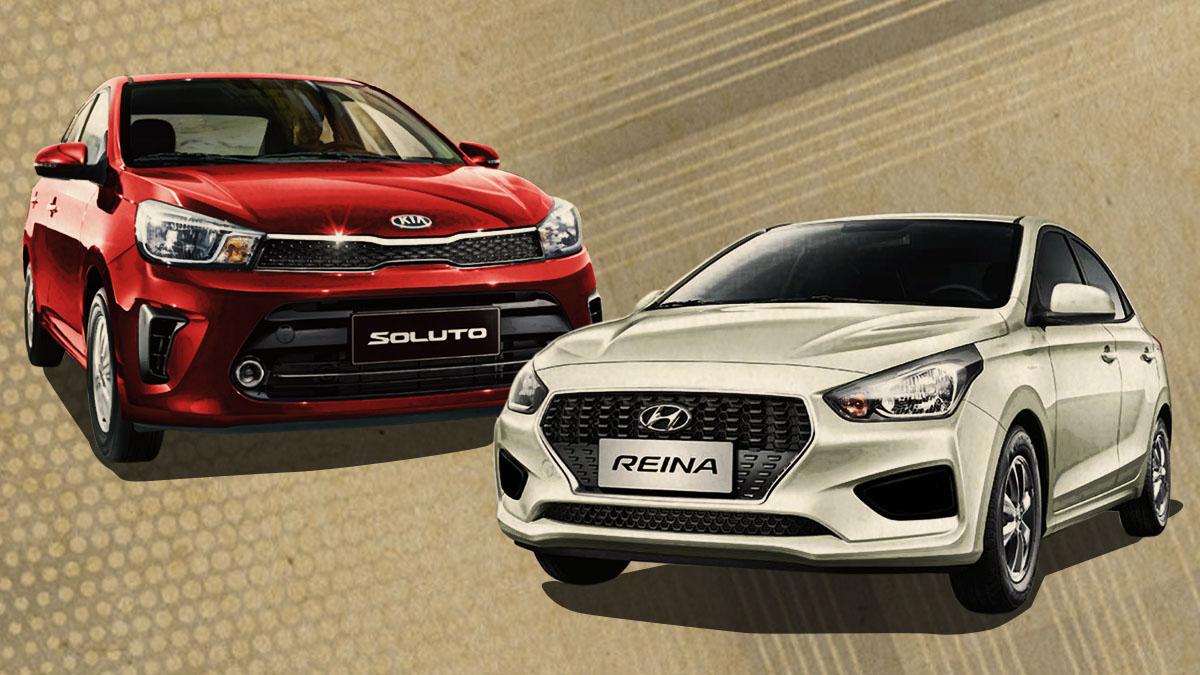2019 Kia Soluto Hyundai Reina Review Price Photos Features Specs