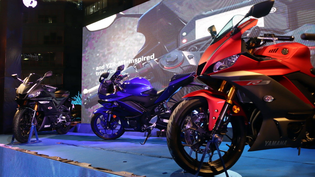 2019 Yamaha YZF-R3 launched in PH priced at P259,000