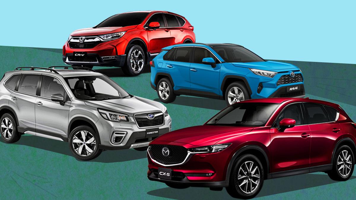 Cx5 Vs Rav4 >> Toyota Rav4 Subaru Forester Mazda Cx 5 Honda Cr V 2019 Specs