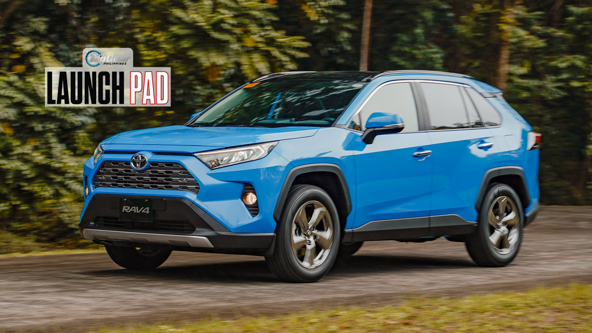 Top Gear Launch Pad 2019 Toyota Rav4