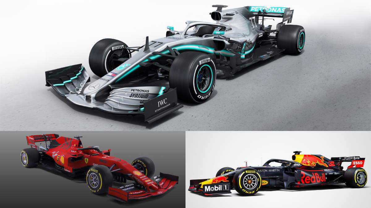 Gallery The Formula 1 Cars For The 2019 Season