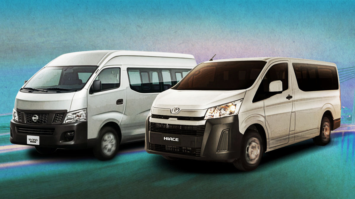 2019 Toyota Hiace, Nissan NV350: Specs, Prices, Features