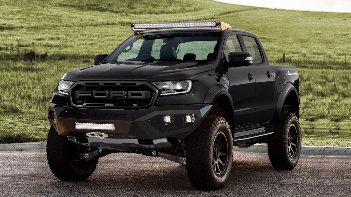 2019 Hennessey Ford Ranger Raptor Specs Features Performance
