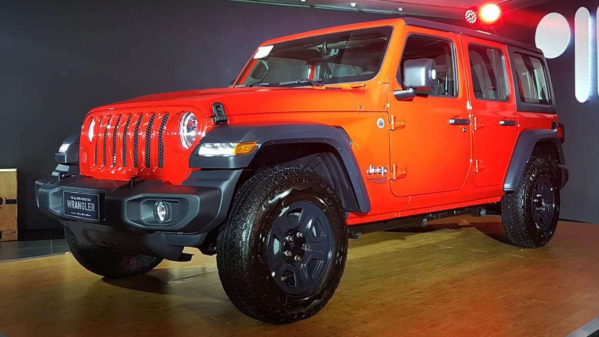 Jeep Wrangler 2019 Price Philippines