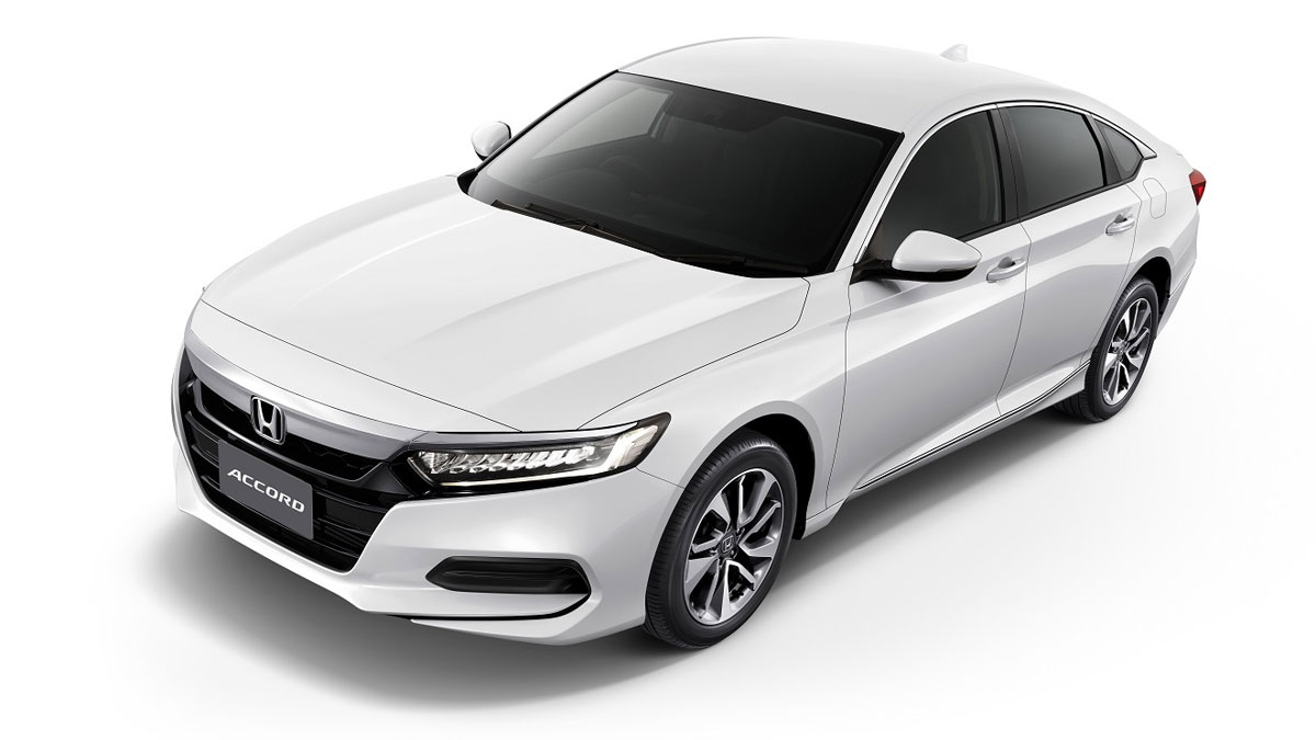 Honda Accord Sensing >> All-new 10th-generation Honda Accord debuts in Thailand