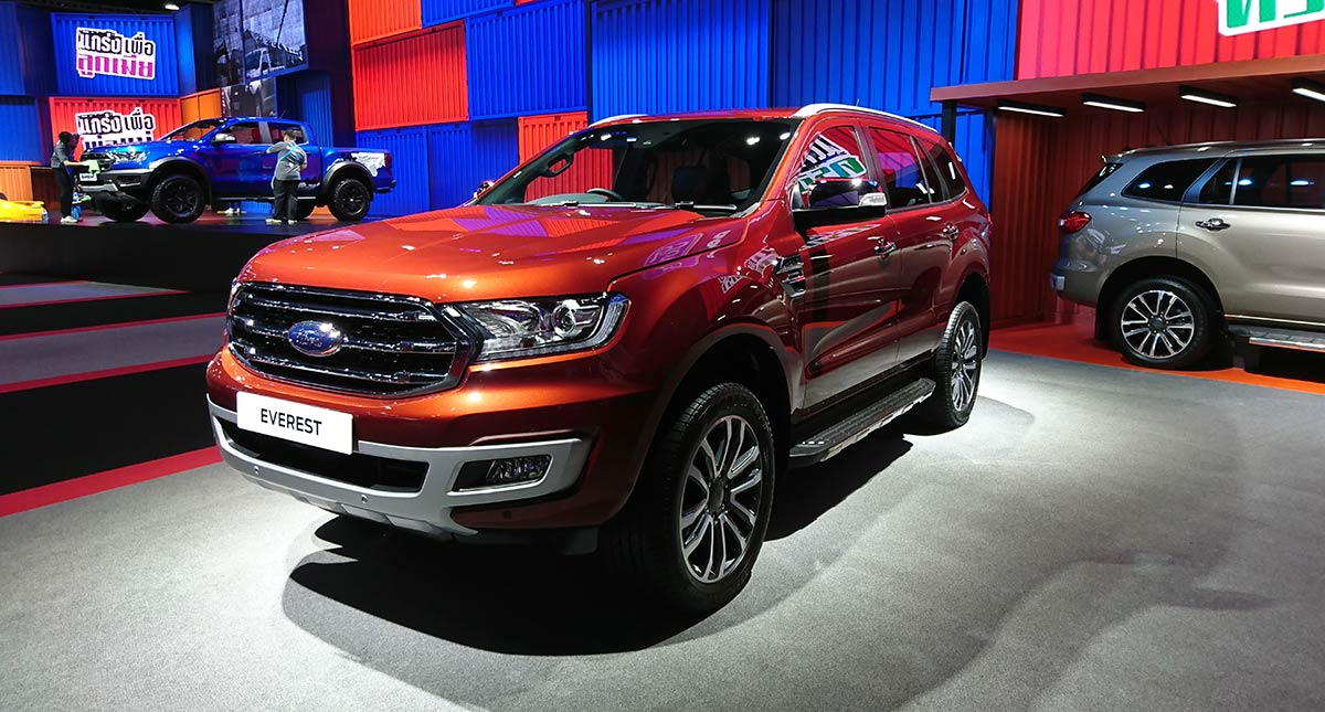2019 Ford Everest Photos Features Specs