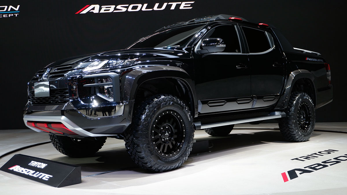 2020 Mitsubishi Triton Price, Release Date, Changes, And Specs >> 2019 Mitsubishi Triton Absolute Photos Features Specs