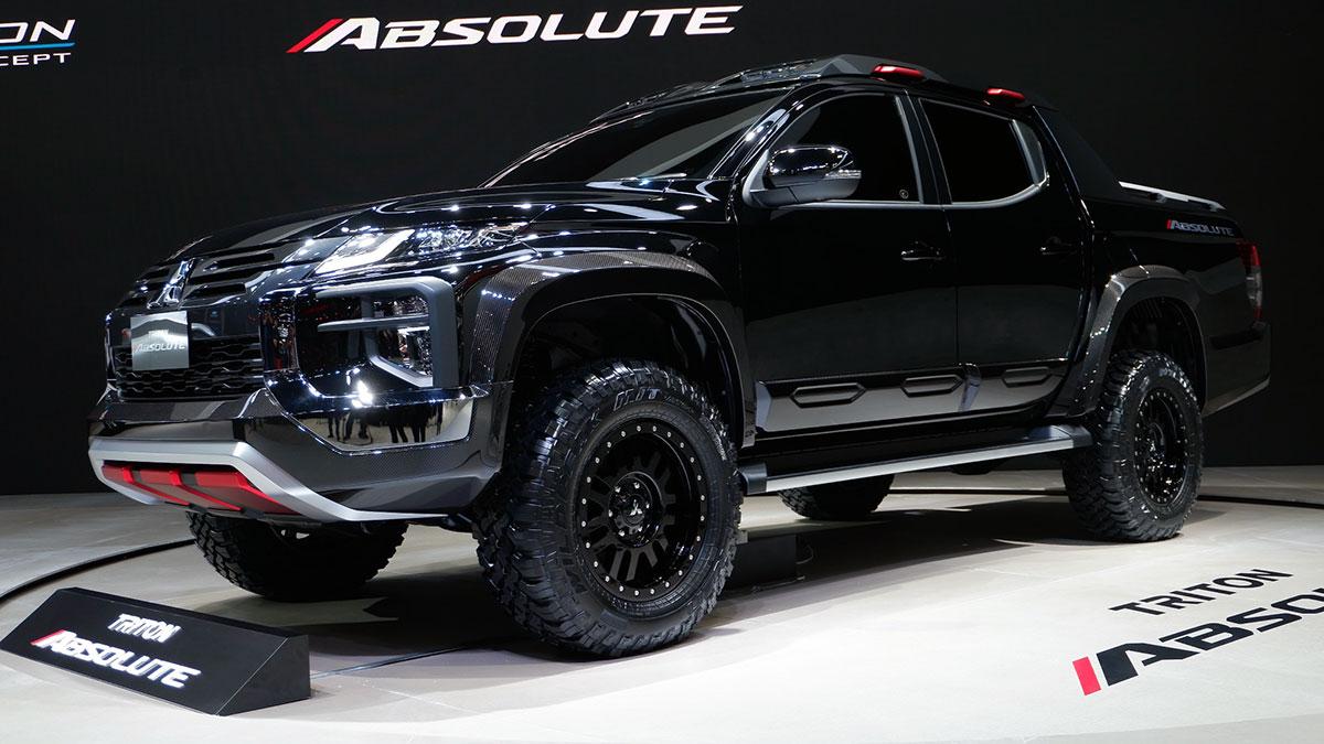 2019 Mitsubishi Triton Absolute: Photos, Features, Specs