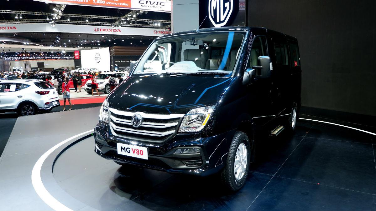 Nissan Cargo Van >> 2019 MG V80: Specs, Features, Photos