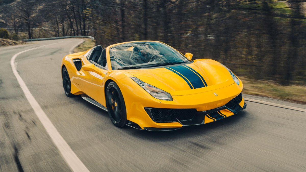 2019 ferrari 488 pista spider  review  price  photos  features  specs