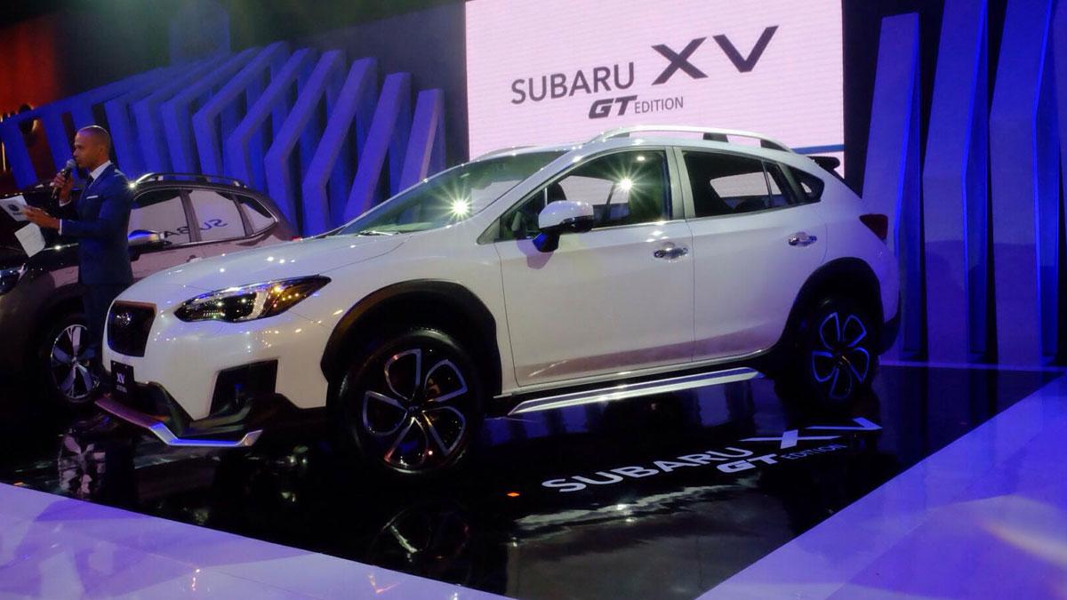 2019 Subaru XV GT at MIAS: Specs, Features, Photos