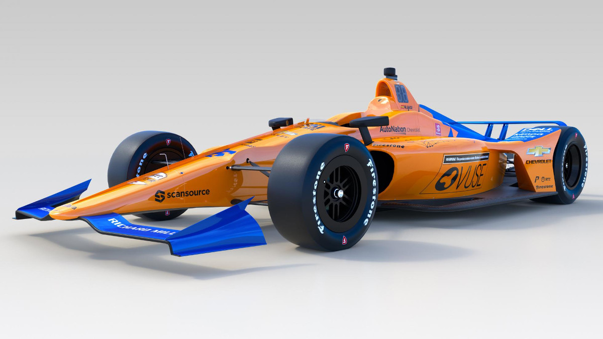 Greg May Honda >> This is Fernando Alonso's car for the 2019 Indy 500