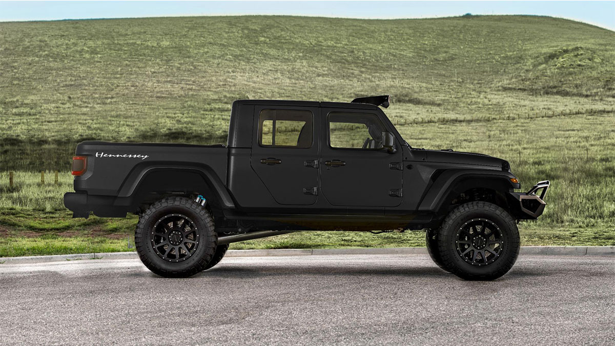 Check Out This 1 000hp Hennessey Jeep Gladiator
