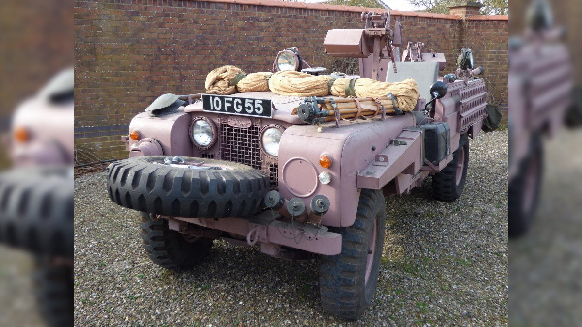 Land Rover 'Pink Panther' used by the British special forces