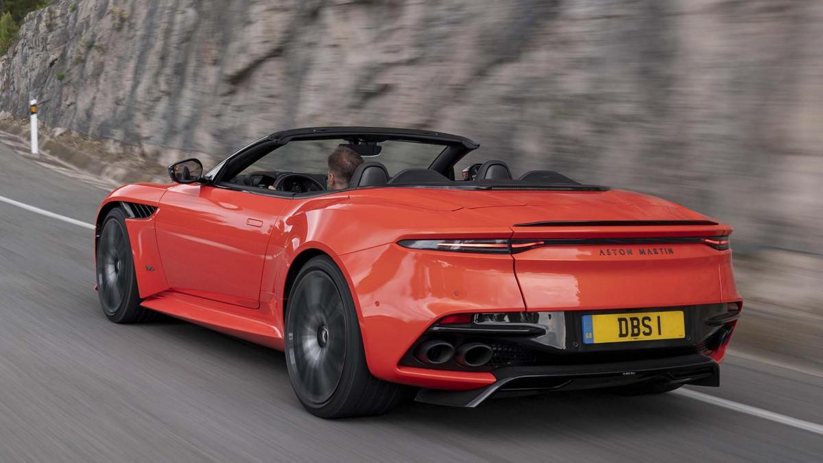 Aston Martin Dbs Superleggera Volante Price Specs Features