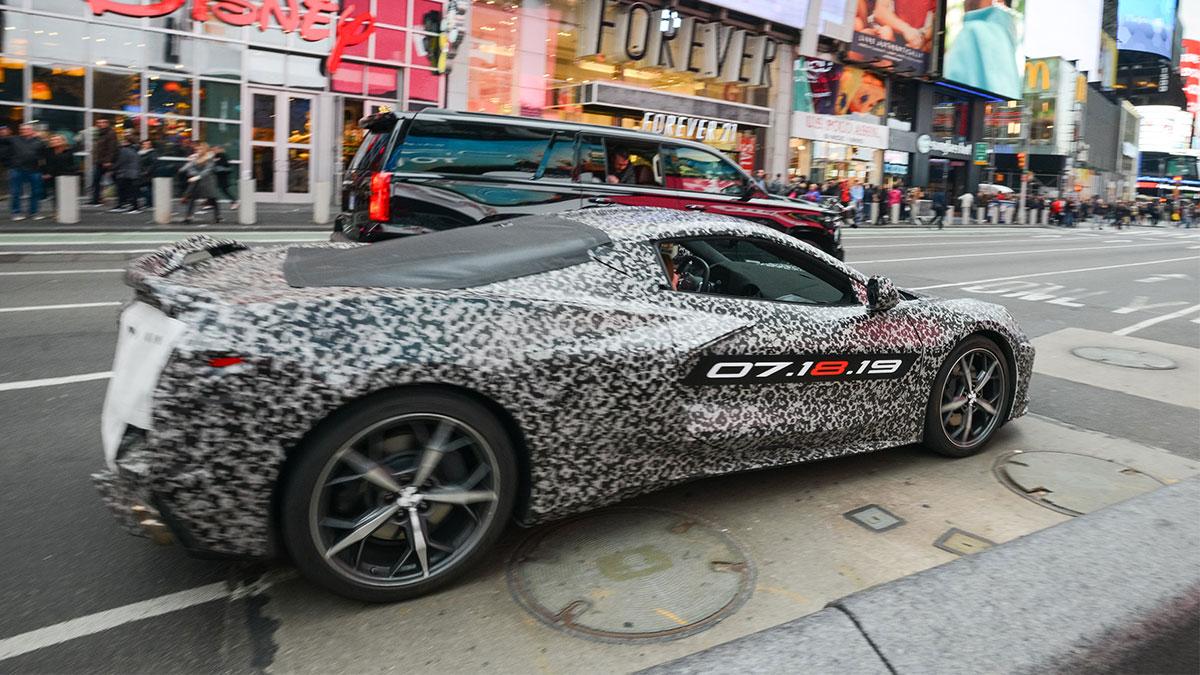 2020 Chevrolet Corvette Stingray Reveal Photos