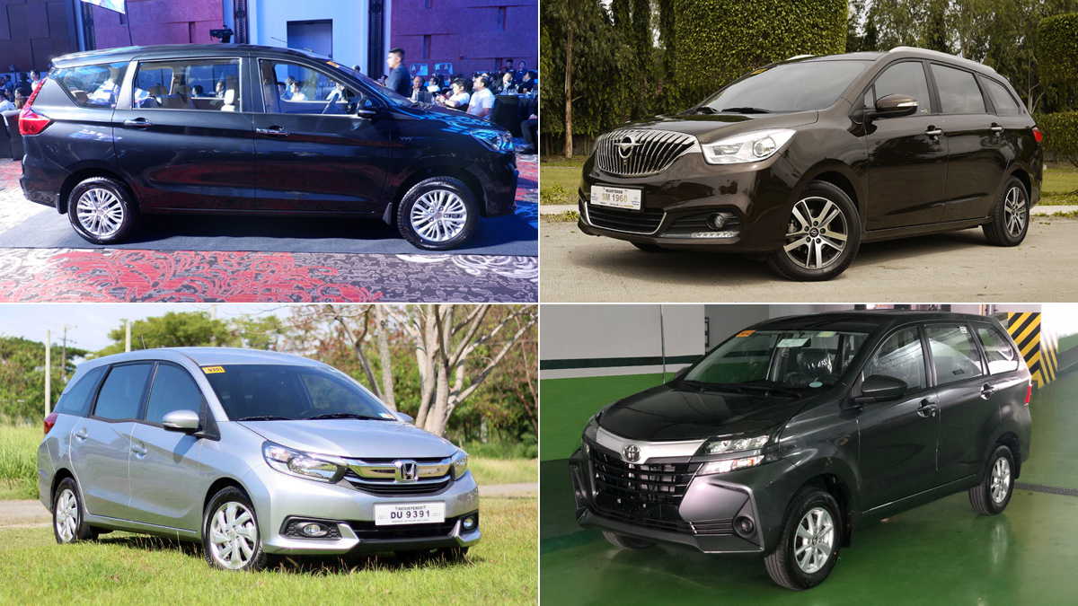 Seven Seat Mpvs You Can Buy For Around P15 000 Or Less Per Month