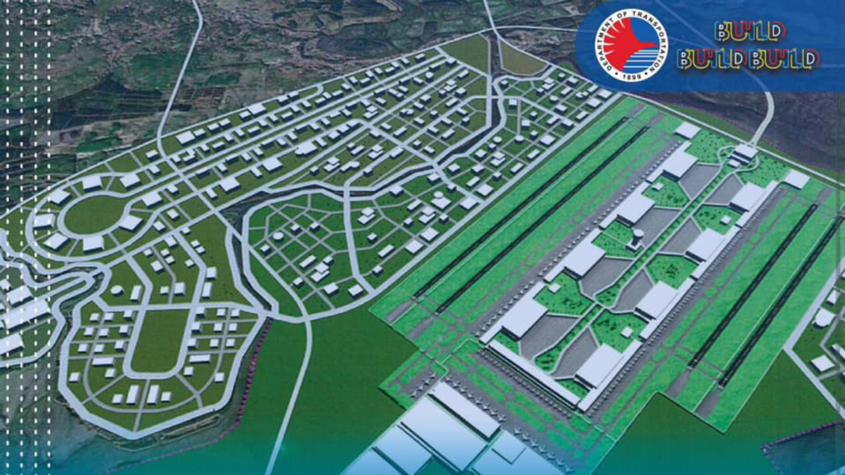 Construction of international airport in Bulacan to start in