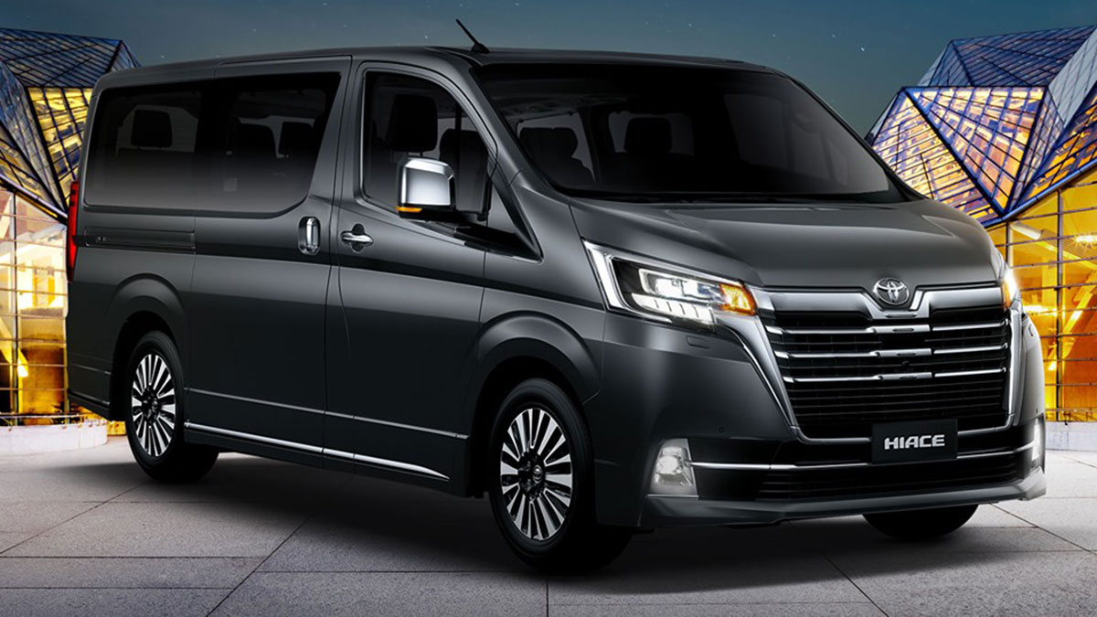 2019 Toyota Hiace Super Grandia: Prices, Specs, Features