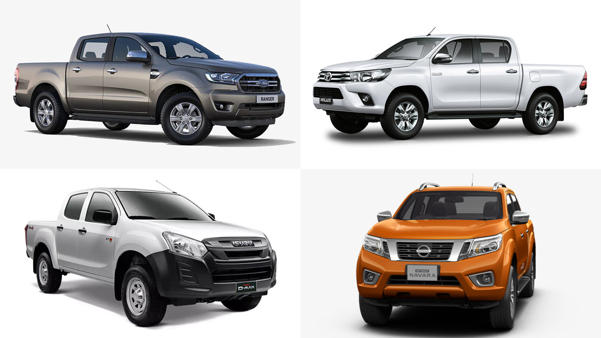 8 Pickup Trucks You Can Buy For Under P18 000 A Month