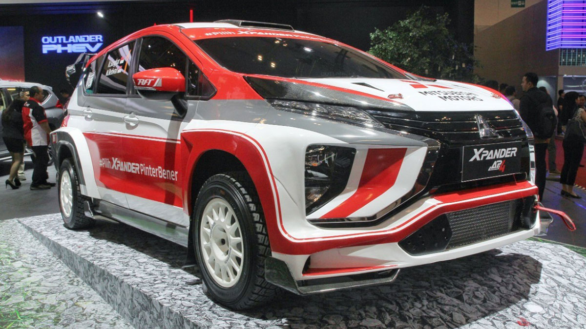 Take A Look At The Mitsubishi Xpander AP4 Rally Car