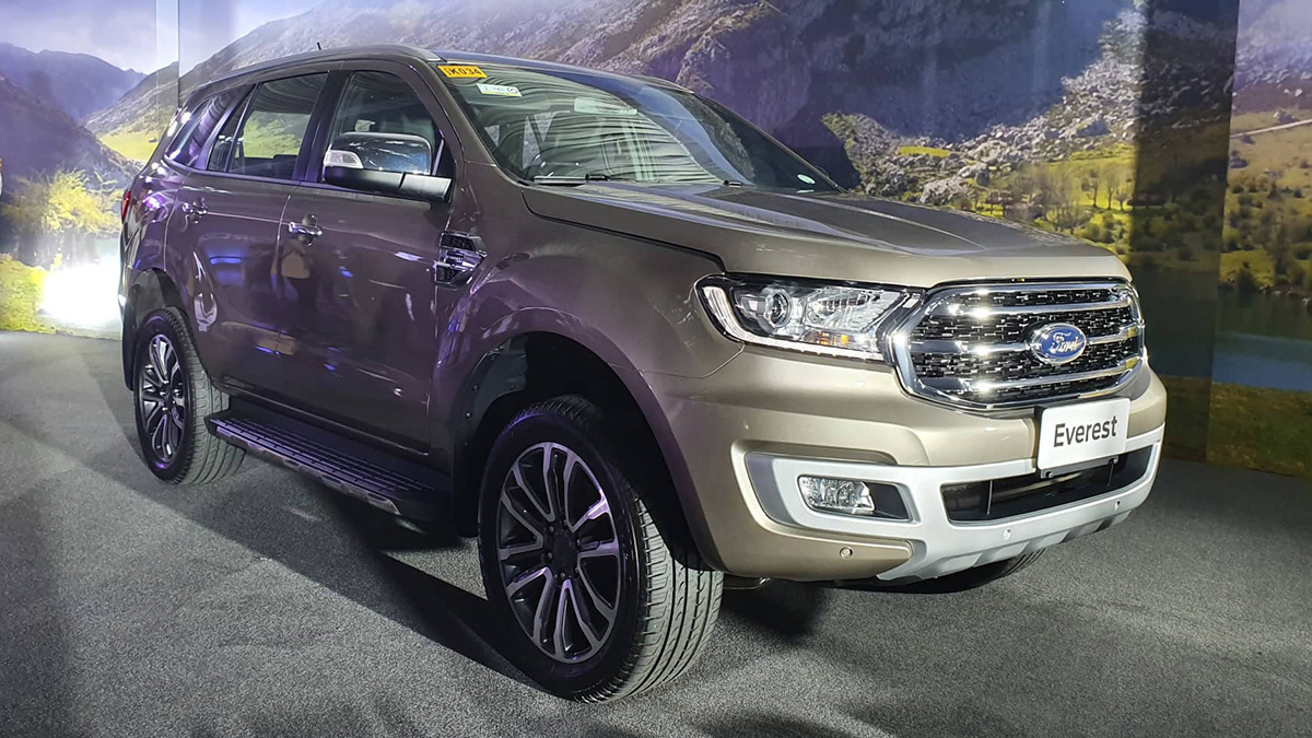 2019 Ford Everest Specs Prices Features