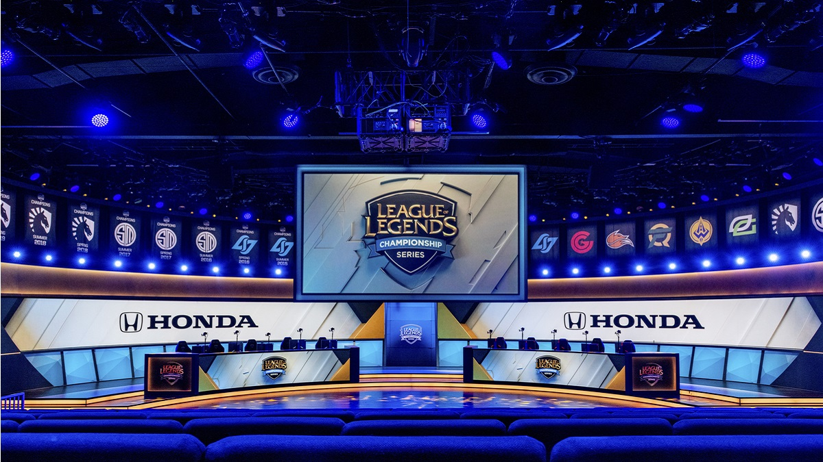 Honda partners with Riot Games to sponsor the LCS in NA