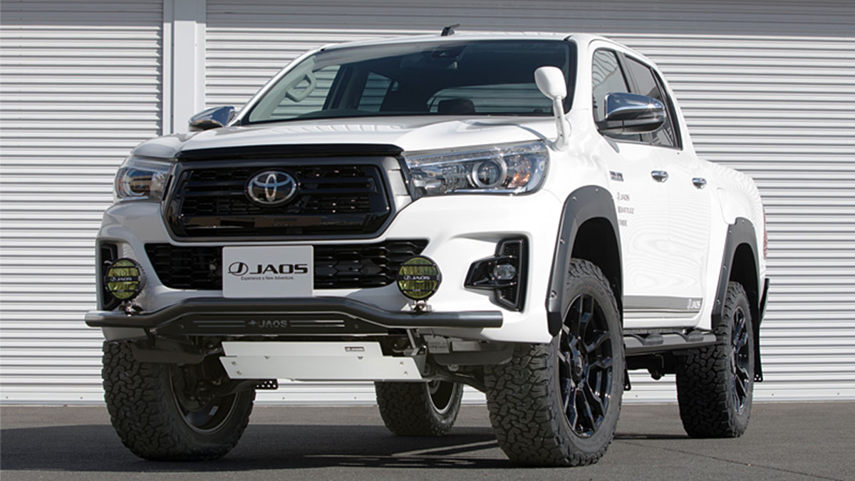 The Toyota Hilux 125 Series Is An Off Road Machine By Jaos
