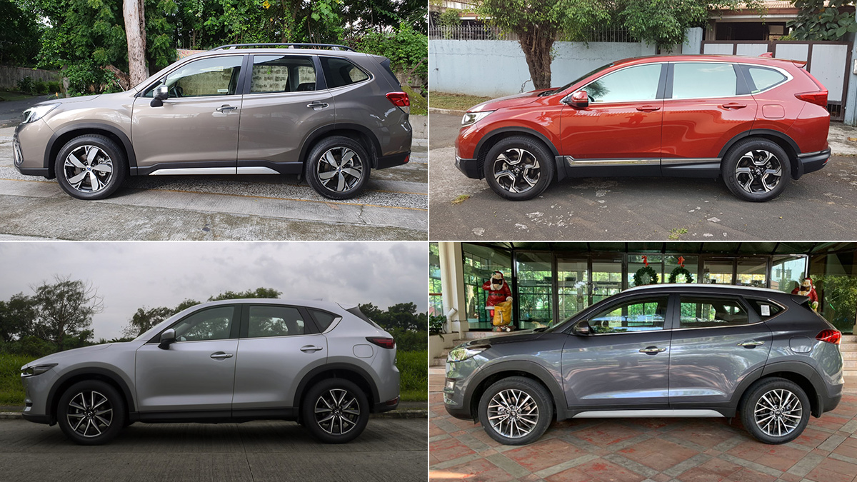 2020 CR-V, CX-5, Forester, X-Trail, Tucson: Specs, Prices