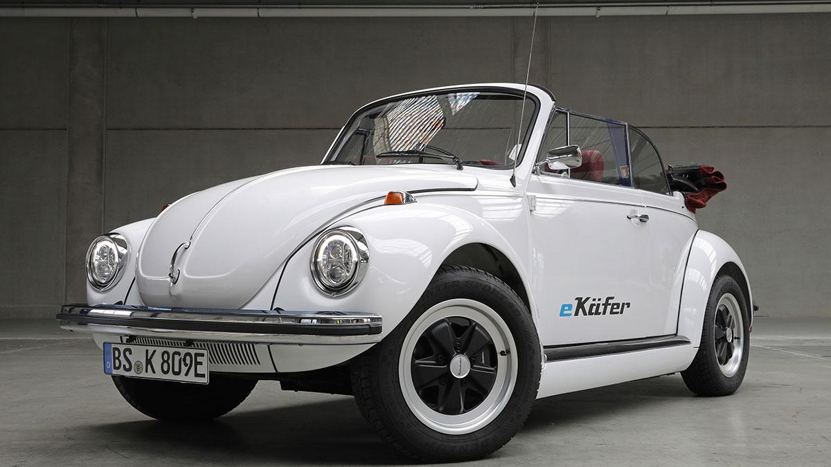 Volkswagen has electrified the legendary Type 1 Beetle