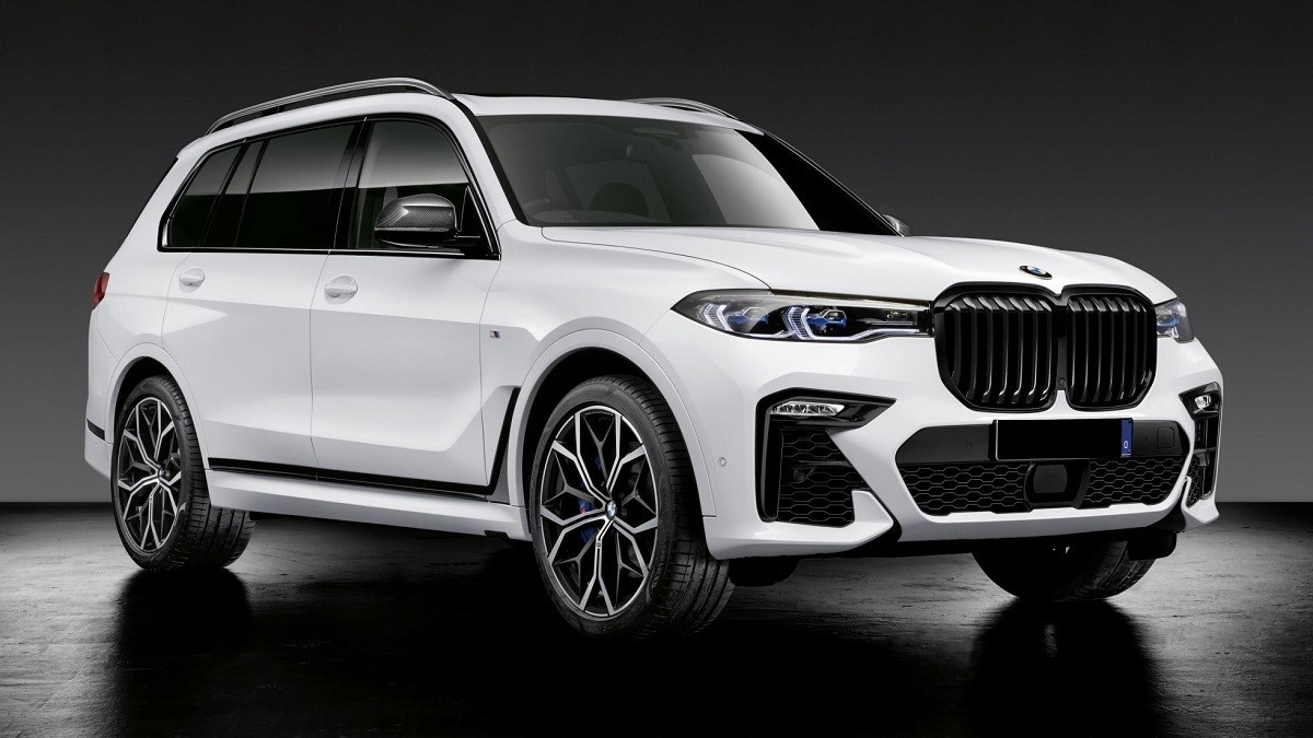 Meet The Bmw X7 M50d With M Performance Bits