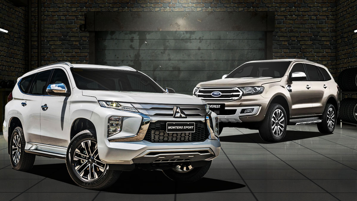 2020 Mitsubishi Montero Sport Ford Everest Specs Comparison