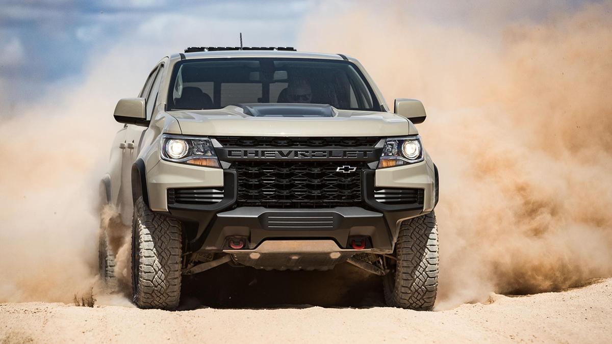 2020 Chevrolet Colorado Zr2 Specs Features Photos
