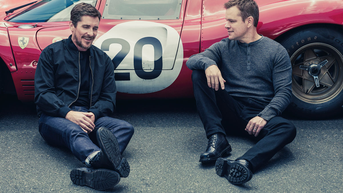 Interview Christian Bale And Matt Damon Talk About Ford V Ferrari
