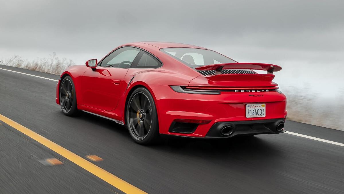 2020 Porsche 911 Turbo S Review Price Photos Features Specs