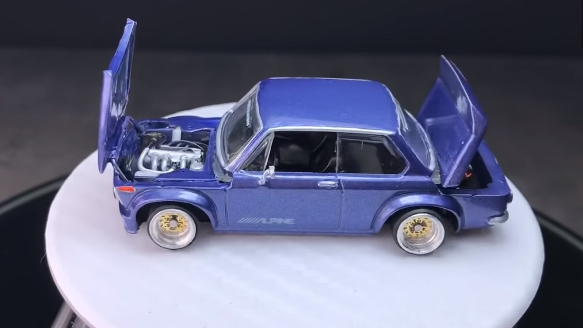Check Out This Completely Rebuilt Hot Wheels Project Car