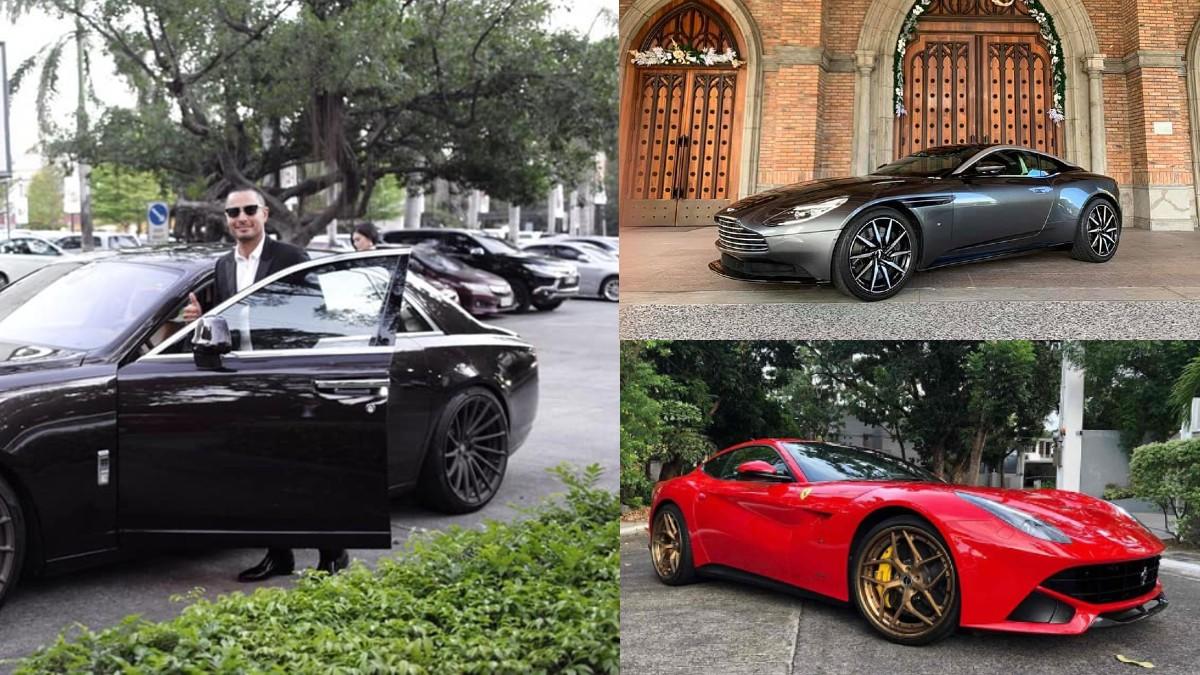 Derek Ramsay Is Selling Some Of His Luxury Cars