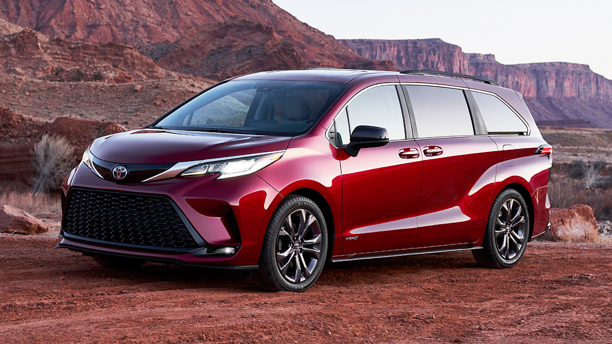 Toyota Has Revealed The All New Sienna Minivan